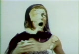 Still frame from: Virginia Slims Cigarettes U.S. Television Commercial / Humor 06 / Pies / 1968-1971