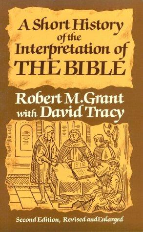 A short history of the interpretation of the Bible
