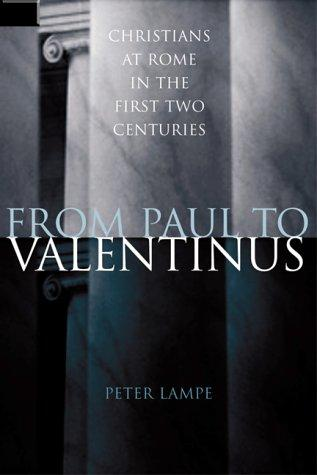 Download From Paul to Valentinus