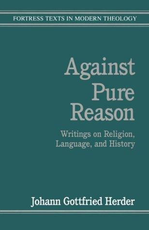 Against pure reason