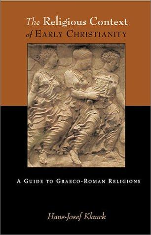 Download The religious context of early Christianity