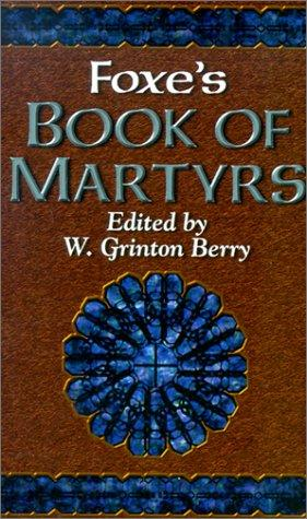 Download Foxes Book of Martyrs