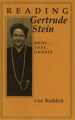 Download Reading Gertrude Stein