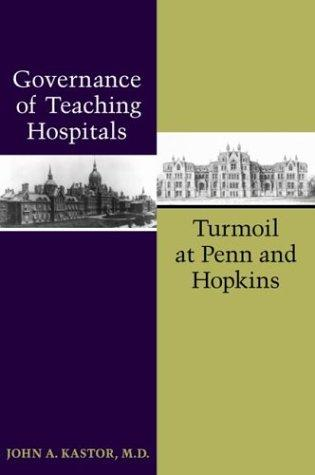 Download Governance of Teaching Hospitals