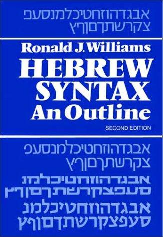 Download Hebrew syntax