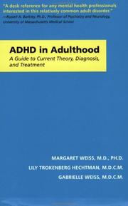 Thumbnail of ADHD in Adulthood: A Guide to Current Theory, Diagnosis, and Treatment