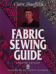 Claire Shaeffer's Fabric Sewing Guide (Creative Machine Arts) [Paperback]