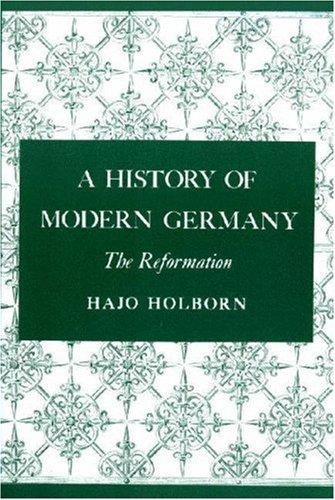 Download A History of Modern Germany