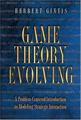 Download Game Theory Evolving