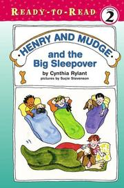 Henry and Mudge Cover