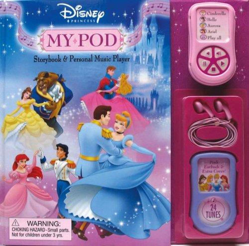 Disney Princess My Pod Storybook and Music Player (Rd Innovative Book and Player Format) by Sara Miller