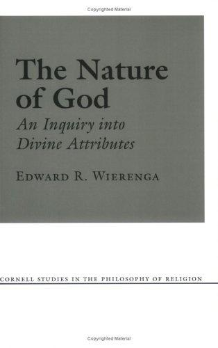 The nature of God by Edward R. Wierenga