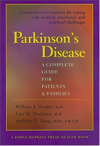 Image 0 of Parkinson's Disease: A Complete Guide for Patients and Families (A Johns Hopkins