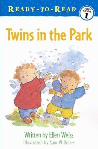 Twins in the park by Ellen Weiss