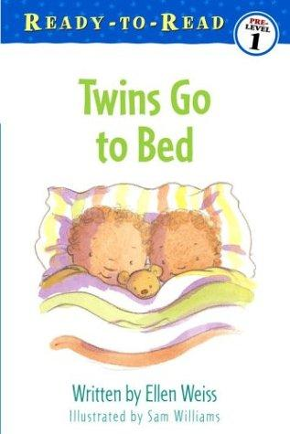 Twins go to bed by Ellen Weiss