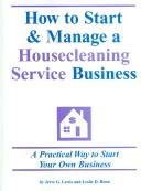 How to Start & Manage a Housecleaning Service Business